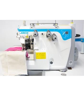 Jack E4S-3 Industrial 3 Thread Overlock Machine Direct Drive