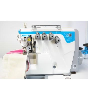 Jack E4S-5 Industrial 5 Thread Overlock Machine Direct Drive